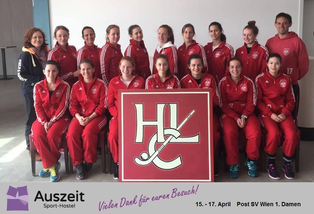Post SV Wien Hockey im Auszeit